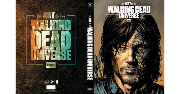 SUPERSTAR DAVID FINCH & DAVE MCCAIG ILLUSTRATE DARYL DIXON ON LIMITED EDITION COVER TO THE ART OF AMC'S THE WALKING DEAD UNIVERSE
