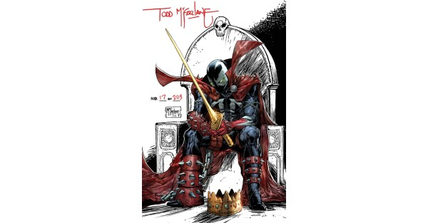 KING SPAWN #1—NEW MCFARLANE RETAILER INCENTIVE 1:250 COVER REVEALED