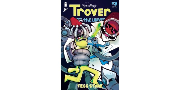 THE SECRET ORIGIN OF DR. KILL TOTALLY WON'T TRAUMATIZE YOU IN TROVER SAVES THE UNIVERSE #3