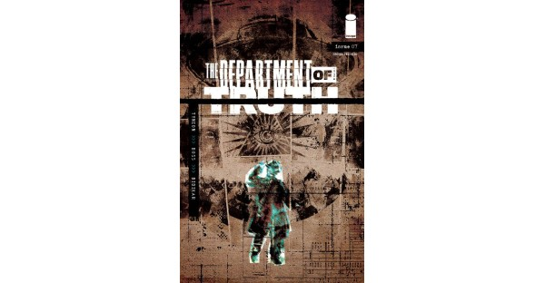 THE DEPARTMENT OF TRUTH ISSUES #7-12 ALL RUSHED BACK TO PRINT