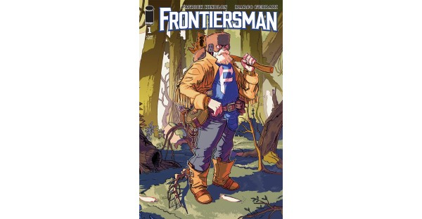 A NEW SUPERHERO ADVENTURE SERIES—FRONTIERSMAN—LAUNCHES THIS SEPTEMBER
