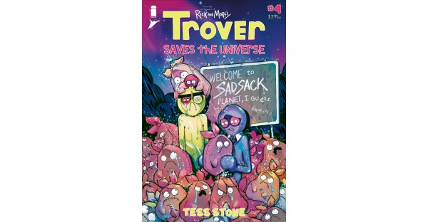 GET READY TO BE FLABBERGASTED BY THE STUNNING REVEAL OF DR. KILL'S EMPLOYER IN TROVER SAVES THE UNIVERSE #4